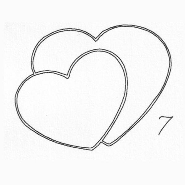Gravur 7 Herz