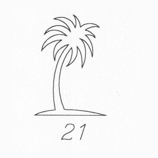 Gravur 21 Palme