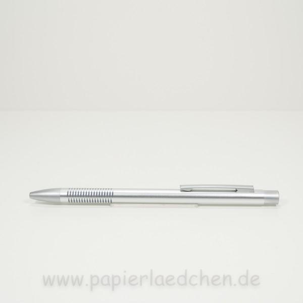 DIPLOMAT Kugelschreiber Spacetec Pearl silber Schreibfarbe schwarz