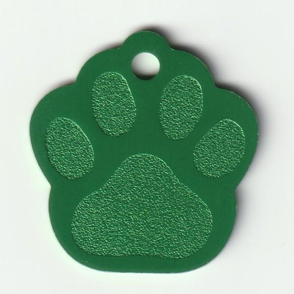 Hundemarken Hundemarke Pfote Mit Gravur Beidseitig Graviert Alu
