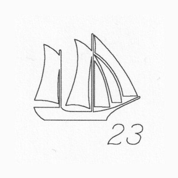 Gravur 23 Schiff