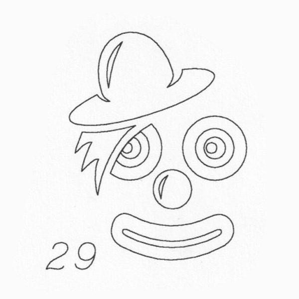 Gravur 29 Clown