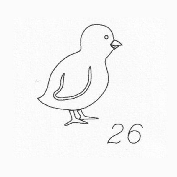Gravur 26 Vogel